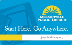 Jacksonville Public Library Card